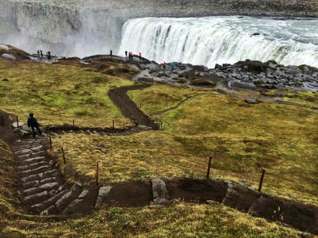 Iceland steps